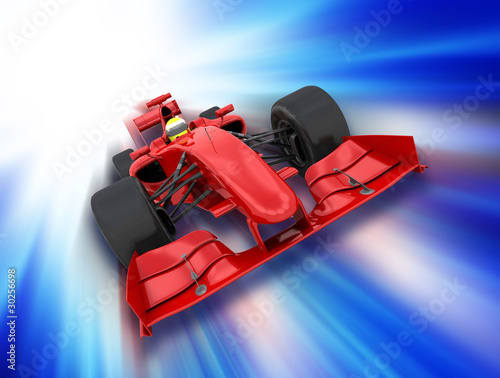 Poster Cars Formula one car