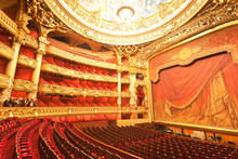 The Interior Of Grand Opera In Paris