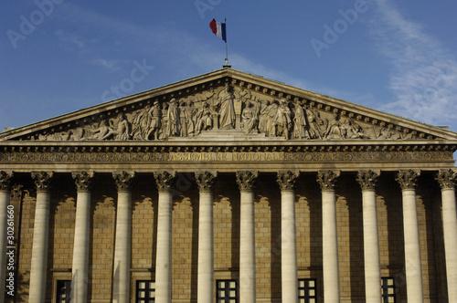 Stampe  France, Paris, palais Bourbon, Assemblée Nationale