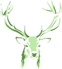 Naklejka Eko Deer Stag