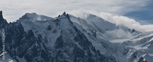 Fotografia, Obraz  Aiguille du midi et le mont blanc