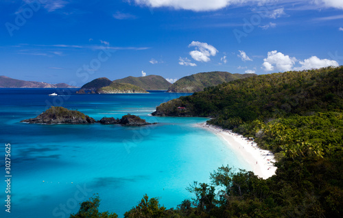 Fototapeta  Trunk Bay on St John