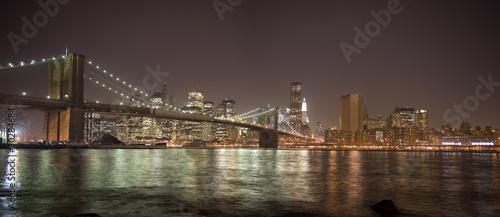 Foto op Canvas Brooklyn Bridge Brooklyn Bridge, New York, NY