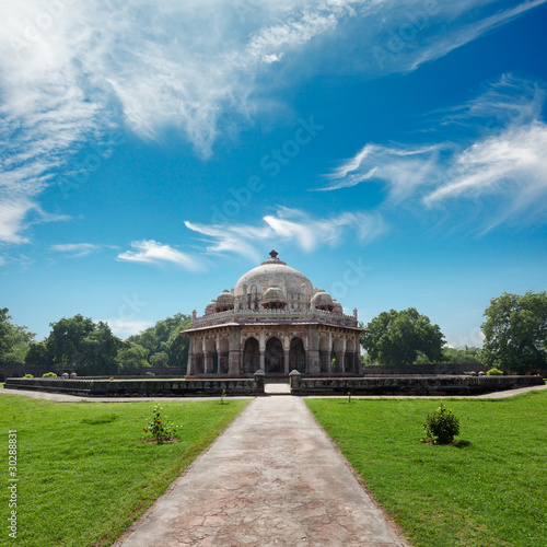 Canvas Prints Delhi Isa Khan Tomb