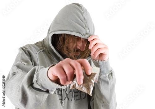 Photographie drug dealer