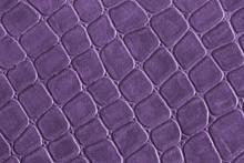 Purple Leather,gridded Pattern .