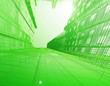 Leinwanddruck Bild - abstract architectural background