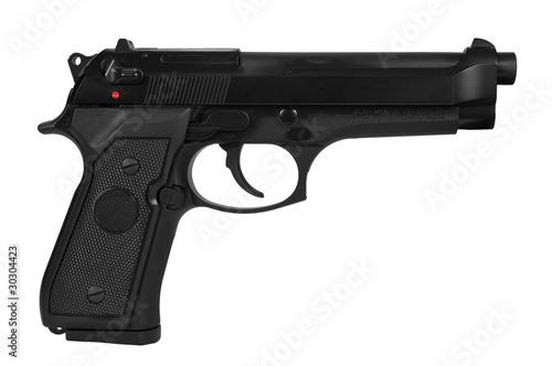 Photo Automatic handgun