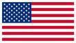 Leinwandbild Motiv USA Stars and Stripes American Flag