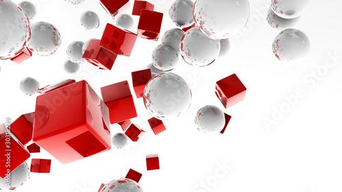 biale-kulki-i-czerwone-szesciany