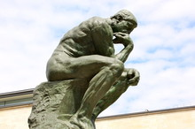 """""""The Thinker"""", Sculpture Of Auguste Rodin"""