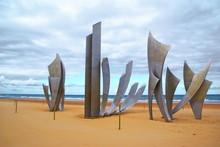 Sculpture D'Omaha-beach