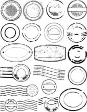 Postmark Vector Elements