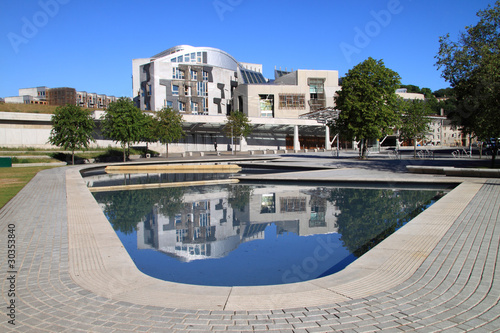 Carta da parati  Scottish Parliament, Holyrood, Edinburgh