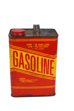 1 Gallon Gas Can With Cap On P...