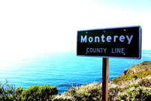 Highway One Monterey County Line