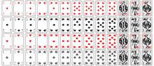 Spielkarten Herz, Karo, Pik, K...