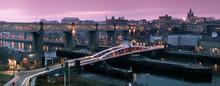 Newcastle Gateshead Quayside Panorama
