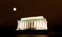 The Lincoln Memorial In Washin...