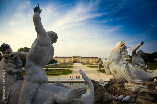 Spoed Foto op Canvas Wenen schloss schoenbrunn, wien