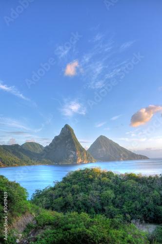 Foto op Plexiglas Caraïben Pitons - St. Lucia / Saint Lucia (Carribean)