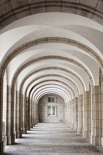 Fototapety, obrazy: Architectural detail of The Benedictine Abbey
