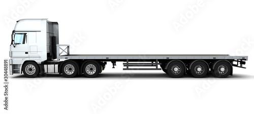 Foto op Plexiglas Motorsport Cargo Delivery Vehicle