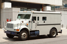 Armoured Armored Car Parked On...