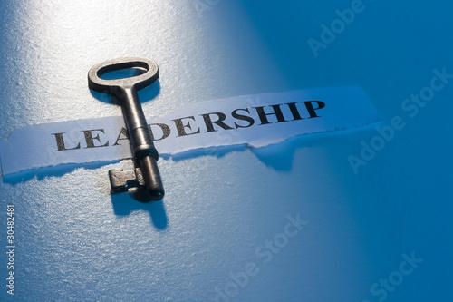 Fotografie, Obraz  Key to Leadership