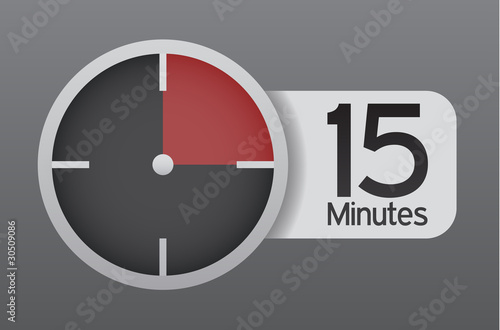 15 minute timer buy this stock vector and explore similar vectors