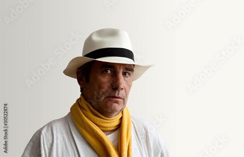 Fotografering  chapeau