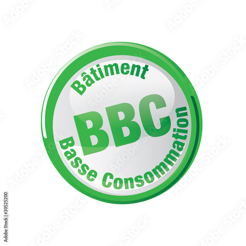Photo  pictos BBC - batiment basse consommation