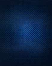 Blue Metal Grate Background