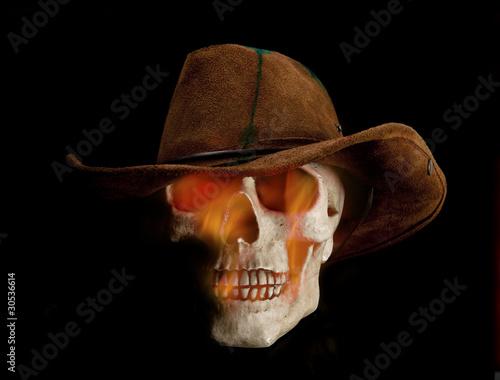 Fotografie, Obraz  Undead cowboy