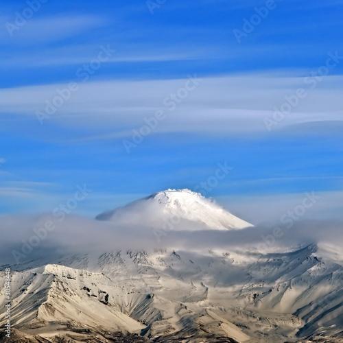 Staande foto Vulkaan Volcano