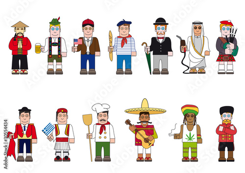 Photo  Personnages Pays