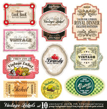 Vintage Labels Collection - Se...