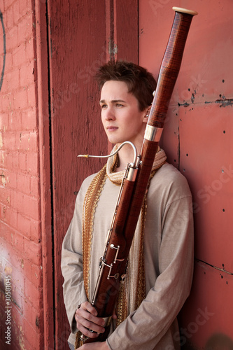 Photo Young Bassoon Musician