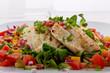Salat mit SEELACHS