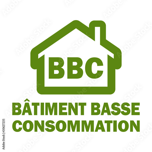 Photo  Vecteur BBC batiment basse consommation