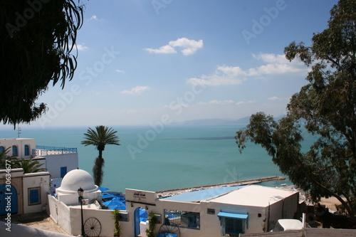 Staande foto Tunesië Sidi Bou Said - Tunisie