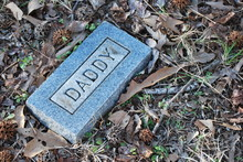 Daddy Grave Foot Stone