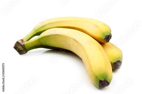 Fototapeta three yellow banana obraz na płótnie
