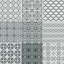 Wrought Iron Seamless Vector Pattern