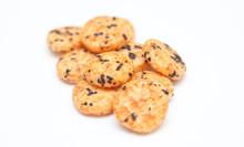 Japanese Rice Crackers With Nori Seaweed
