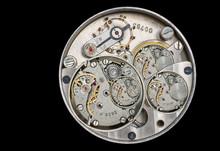 An Old Clockwork As A Mix Of D...