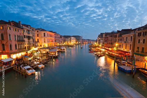 Fototapeta Venice, View from Rialto Bridge. obraz na płótnie