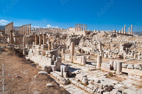 Foto op Plexiglas Xian Ancient Jerash ruins, Jordan