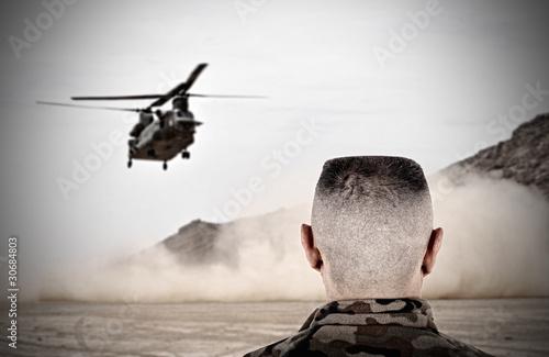 Photo  Elicottero Militare