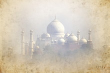 Old Picture Of Taj Mahal - Agr...